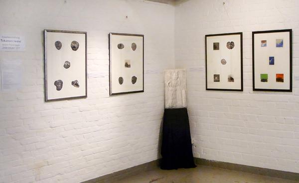 Einzelausstellung des japanischen Künstlers Takanori Iwase im Jahre 2018 in Köln