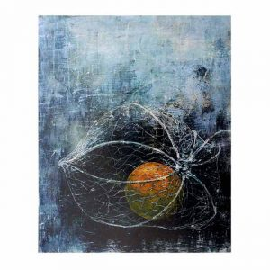 Riitta Keurulainen 1, Finland, Chinese Lantern, 2014, Digital Print of the Original Artwork, 11,2 x 14 cm
