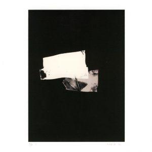 Sabine Huber 1, Switzerland, Eggshell I, 2016, Monotype, Digital Print, 14 x 10 cm