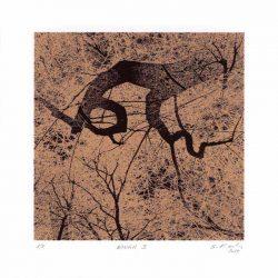 Serge Koch 1, Luxembourg, Bough 1, 2017, Digital Print, 12 x 12 cm