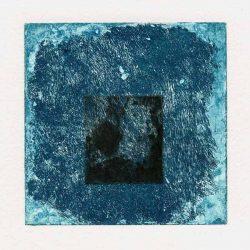 Solange Kowalewski 1, France, Alone in the Colour 1, 2017, Aquatint, 13 x 13 cm