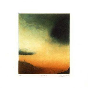 Stephen Lawlor, 1, Ireland, Desert, Etching, 11 x 9 cm