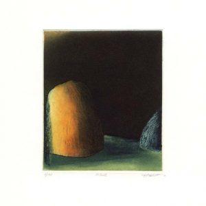 Stephen Lawlor, 15, Ireland, Scene, Etching, 11 x 9 cm