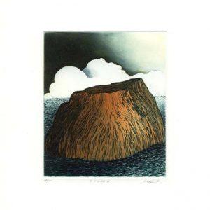 Stephen Lawlor, 16, Ireland, Voyage V, Etching, 11 x 9 cm