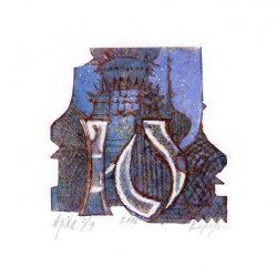 Svetlana Vedernikova 1, Russia, Letters Game, 2016, Color Cartonprint, 10 x 10 cm