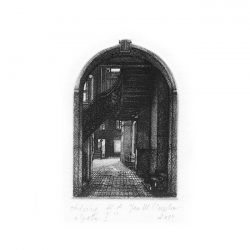 Weronika Siupka 1, Poland, Gate I, 2014, Etching, 14 x 14 cm
