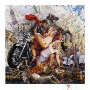 Yvonne Welman 1, Netherlands, Since Leucippos, 2016, Digital Print, Painting, 14 x 14 cm