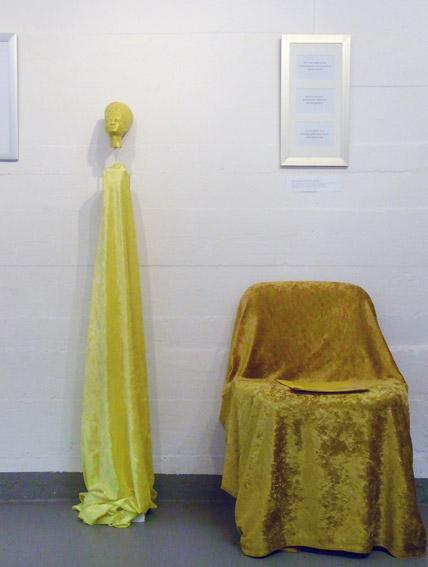 Farbraum Gelb mit den Haiku von Juttamarie Fricke