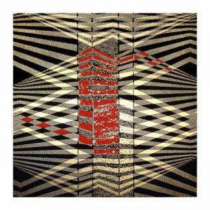 Alicja Snoch-Pawlowska 5, Poland, Into Red 1, 2018, Mixed, 13,5 x 14 cm, 40