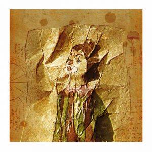 Isao Kobayashi 4,.Japan, The Place Where the Memory Returns No.168, 2018, Piezo Graph, 14 × 14 cm