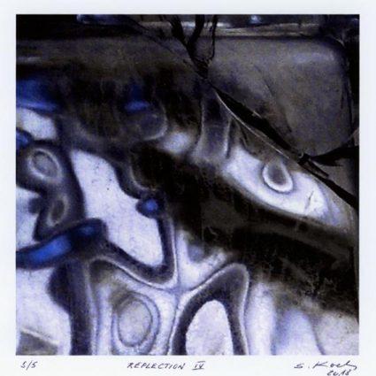 Serge Koch 4, Luxembourg, Reflection IV, 2018, Digital Print, 12 x 12 cm , 90