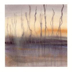 Amaryllis Siniossoglou 1, Greece, Flow I, 2018, Watercolor, 13 x 13,55
