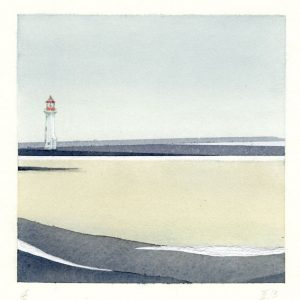 Gerhard Rasser 6, Austria, The Big Journey II-3, Mixed Media, 14 x 14 cm