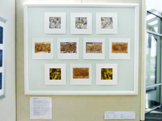 """Eleanora Hofer, Südafrika: Zehn kleinformatige Bilder in der Ausstellung """"16 mal Kunst"""" in Weißenthurm am Rhein"""