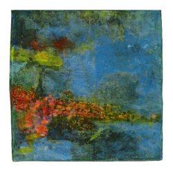 Ana María Lorenzen 1, Sweden, Juegos del Mar, 1, 2018, Pastel, 14 x 14 cm, 120