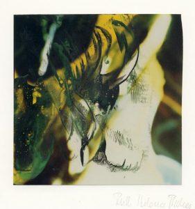 Ruth Helena Fischer 1, Italy, Underwater World 1, 2018, Mixed Media on Paper, 14 x 14 cm, 120