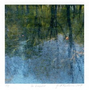 Yvan LaFontaine 4, Canada, Le Bassin, 2017, Digital Print, 10 x 10 cm