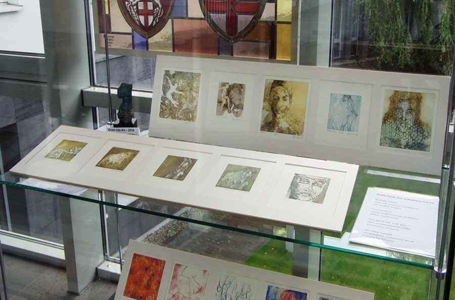 Kunst und Poesie: Juttamarie Fricke, Deutschland, Kunstbilder und Haiku-Gedichte