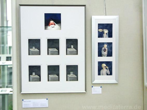 """Wouter Tacq, Belgium: Zehn kleinformatige Bilder in der Ausstellung """"16 mal Kunst"""" in Weißenthurm am Rhein"""