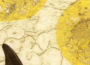 """Detail aus dem Bild """"Fertile"""" der amerikanischen Künstlerin Kelly Nelson"""