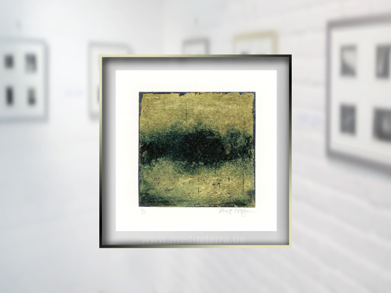 """Detail aus dem Bild """"Gold 1"""" der amerikanischen Künstlerin Jane Cooper"""