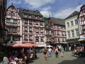 Marktplatz in Bernkastel-Kues, Mosel