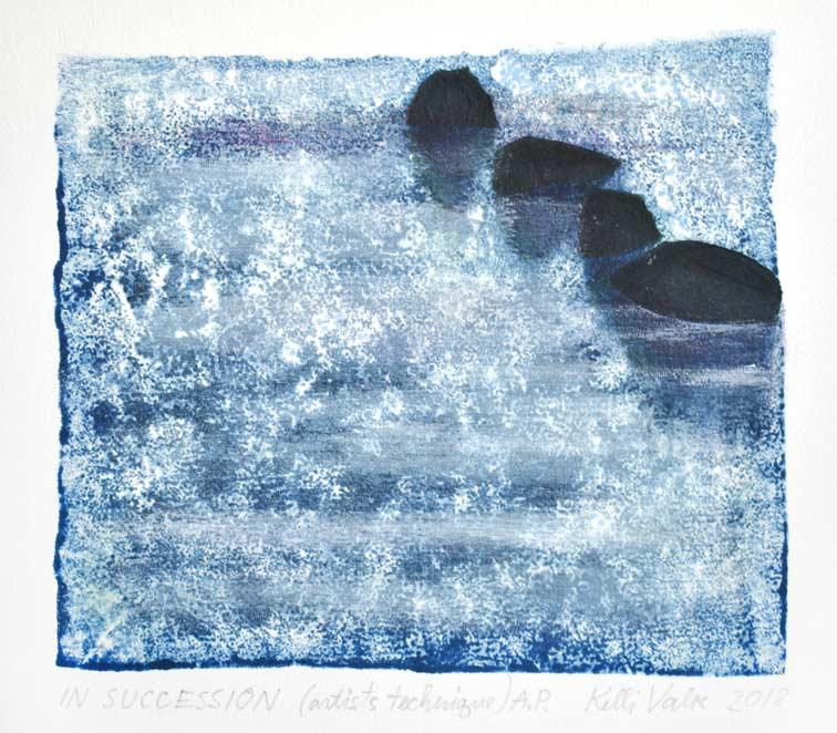 Kelli Valk 1, Estonia, In Succession, 2018, Artists Technique, 13 x 13,5 cm