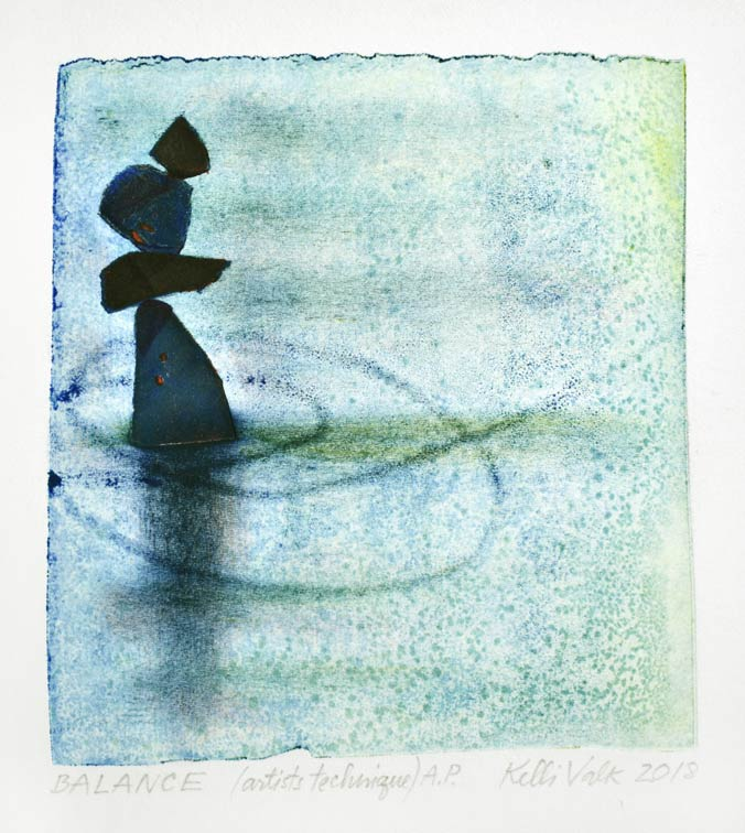 Kelli Valk12, Estonia, Balance, 2018, Artists Technique, 14 x 12 cm