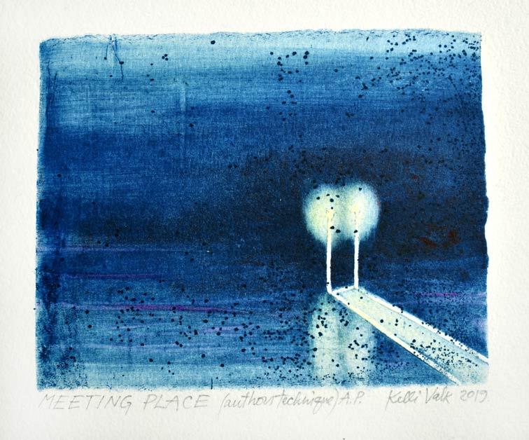 Kelli Valk14, Estonia, Meeting Place, 2019, Artists Technique, 11 x 13,5 cm