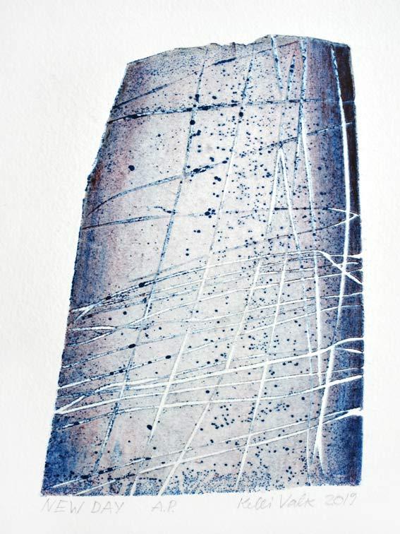 Kelli Valk17, Estonia, New Day, 2019, Artists Technique, 14 x 10 cm