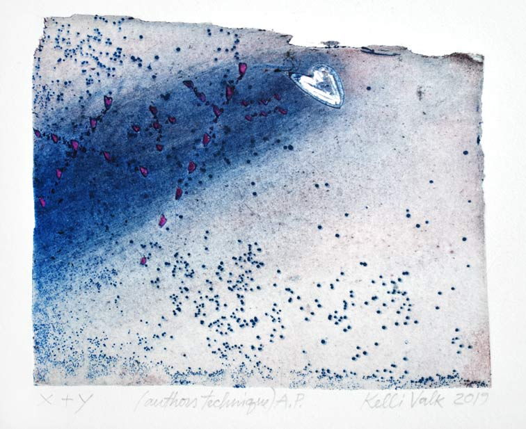 Kelli Valk20, Estonia,  X +Y, 2019, Artists Technique, 11 x 13 cm