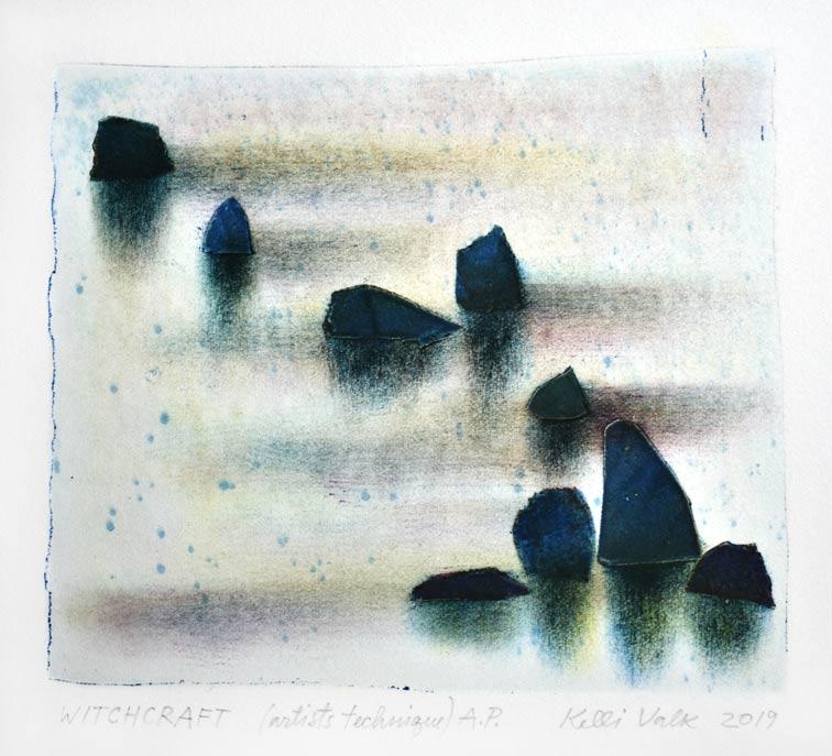 Kelli Valk 3, Estonia, Witchcraft, 2019, Artists Technique, 13 x 14 cm