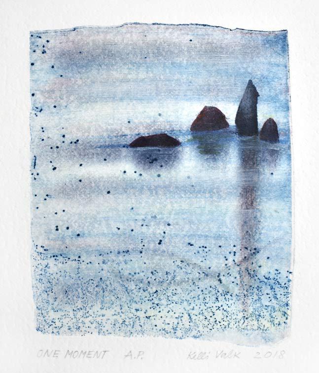 Kelli Valk 8, Estonia, One Moment, 2018, Artists Technique, 14 x 11 cm