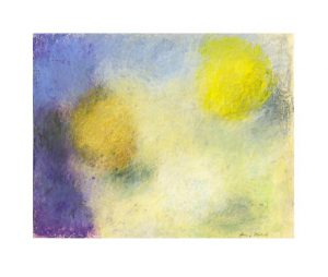 Anna Mäkelä 1, Finland, Composition, 2014, Oil Pastel, 20 x 26 cm