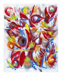 Christine Meytras 1, USA, Babaloo, 2016, Mixed Media, 25 x 20 cm