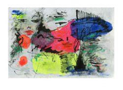 Ellen Bittner 1, Austria, Spring Feelings, 2019, Mixed Media, Cotton, 29 x 19 cm