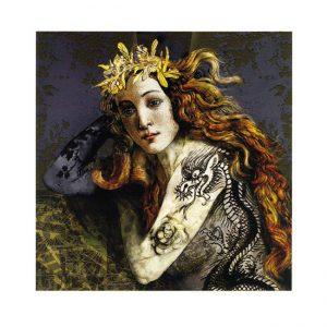 Elsa Charalampous 1, Greece, Venus of the Dragon Crowned, 2018, Digital Art Print, 20 x 21 cm