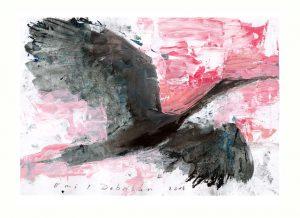 Emil Dobriban 2, Romania, Flying High, 2014, Acrylic, 20 x 29 cm