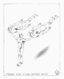 George Gheorghe 3, Austria, Free Tax for Good Boy, 2012, Drawing, 23 x 18 cm