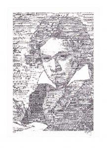 Hayato Takano 1, USA, Ludwig, 2015, Digital Print Of Original Collage, 19,05 x 27,94 cm