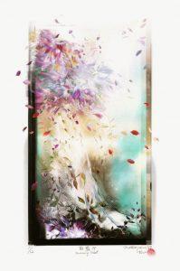 Hirokazu Matsuyama 1, Japan, Asakasumi (Morning Mist), 2019, Giclee, 28 x 20 cm