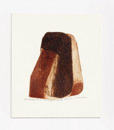 Kathie Pettersson 2, Volcanic Rock, 2018, Etching, 9 x 11,80 cm