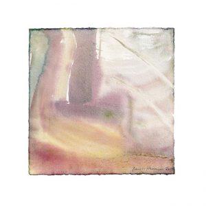 Kirsti Heinonen 2, Finland, Shadowlands, 2019, Aquarell, 20 x 20 cm