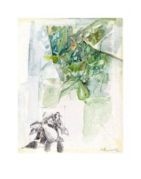 Maria Antonietta Onida 1, Italia, In The Garden, 2018, Watercolour, 20 x 25 cm
