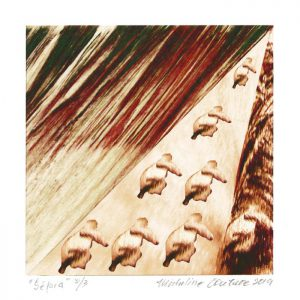 Micheline Couture 2, Canada, Sépia, 2019, Numerical Print, 25 x 20 cm