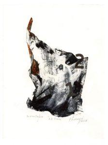 Patricia Pascazzi 2, Argentina, 1 - 2 Boom, 2018, Monocopia, 24 x 17,5 cm
