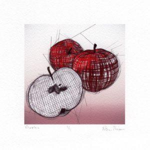 Peter Hriso 1, USA, Apples, 2016, Digital Print, 4 x 4 cm