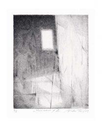 Shoko Tanaka 1, Japan, A Tale About L, 15 x 12 cm, 2019, Lithograph