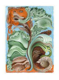 Terry Golletz 2, Canada, Snuggles, 2016, Acrylic Painting, 19 x 26 cm