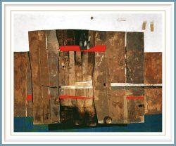 Majlinda Kelmendi 1, Albania, Memory is The Diary, 2017, Oil on Canvas, 140 x 120 cm